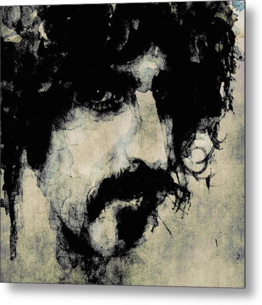 Zappa Metal Print