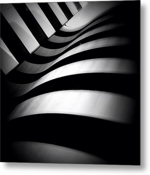 Zebra City - Concrete Jungle Metal Print