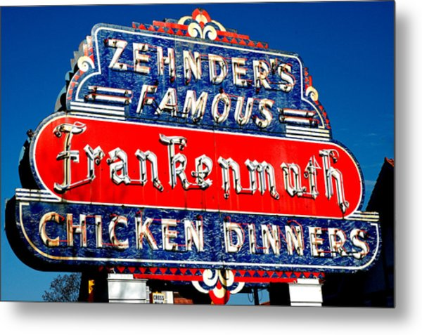 Zehnder's Frankenmuth Michigan Metal Print
