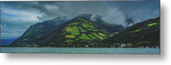 Zell Am See Panorama Metal Print
