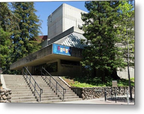 Zellerbach Playhouse At University Of California Berkeley Dsc6306 Metal Print