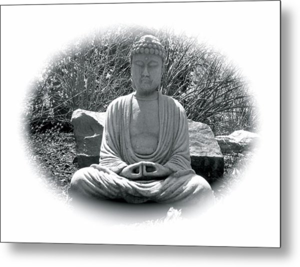 Metal Print featuring the painting Zen by Michael Lucarelli
