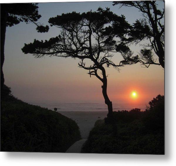 Zen Sunset Metal Print by HW Kateley