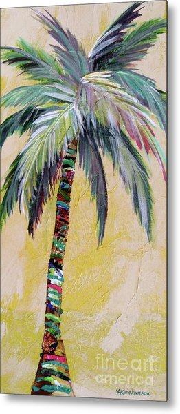 Zest Palm I Metal Print