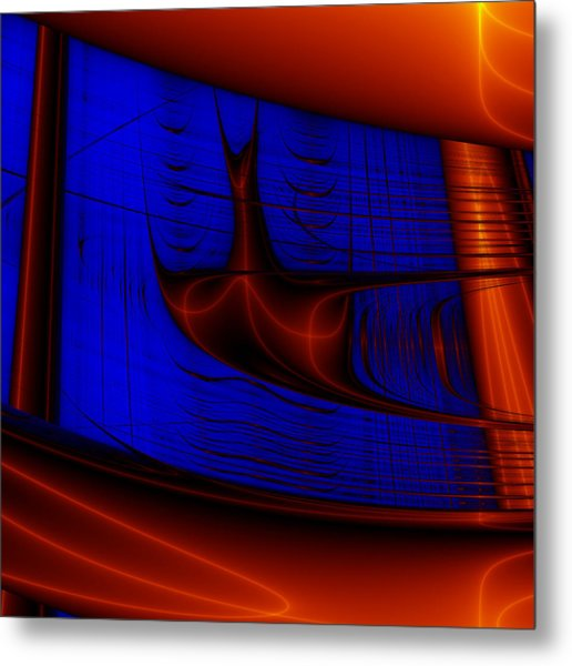 Zestbackle Metal Print