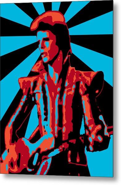 Ziggy Played Guitar Metal Print