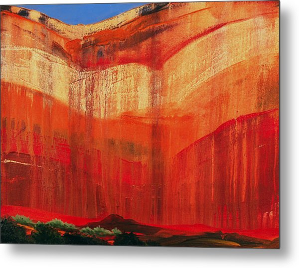 Zion Cove Metal Print by David Rhodes