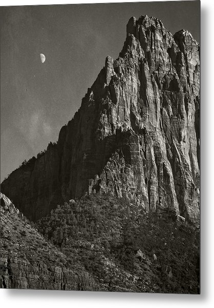 Zion Moonrise Metal Print by Mike McMurray