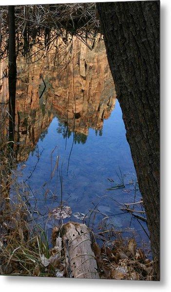 Zion Reflections Metal Print