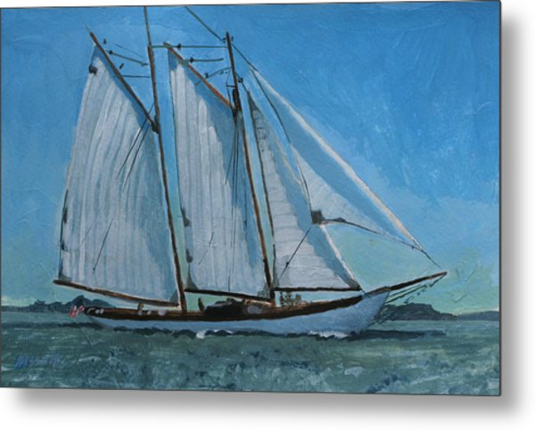 Zodiac Under Way Metal Print by Robert Bissett