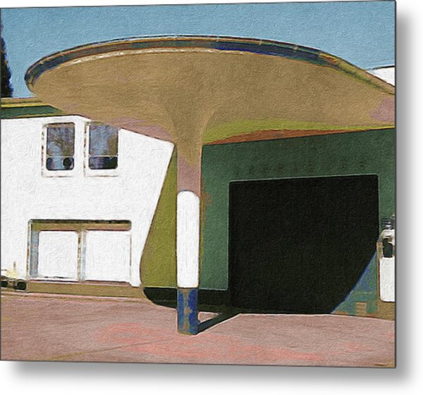 Zoo Garage, Cologne, Germany. Metal Print