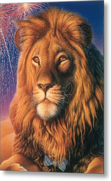 Zoofari Poster The Lion Metal Print