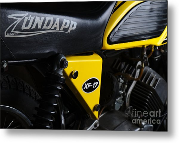 Classic Zundapp Bike Xf-17 Side View Metal Print