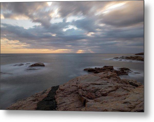 Sunrise On The Costa Brava Metal Print