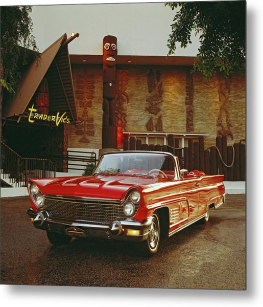 1960 Lincoln Continental Mark V Metal Print