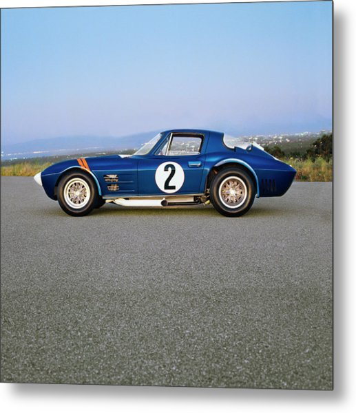 1963 Chevrolet Corvette Grand Sport Metal Print by Car Culture