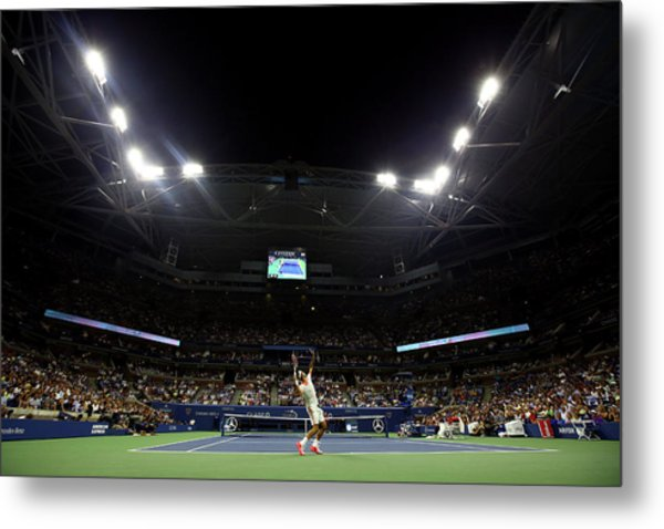2015 U.s. Open - Day 4 Metal Print by Al Bello