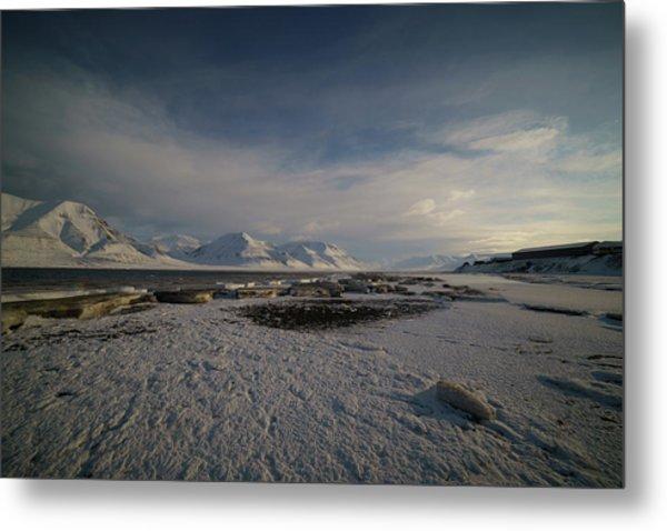 Adventfjorden Metal Print