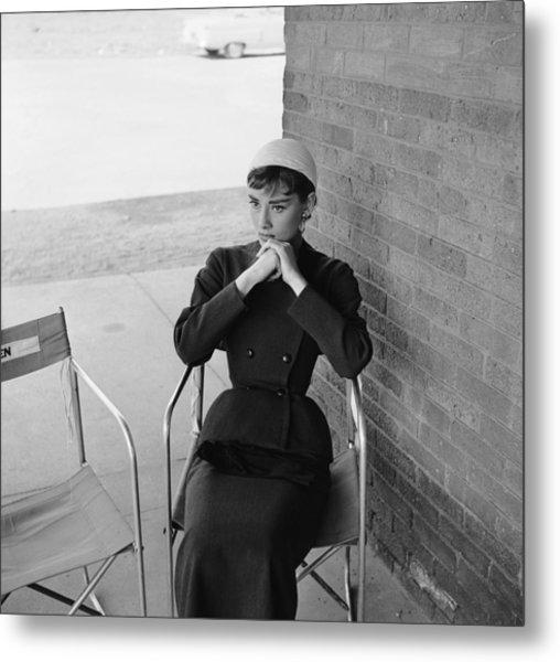 Audrey Hepburn Metal Print by Hulton Archive