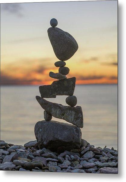 Balancing Art #34 Metal Print