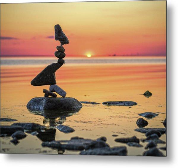 Balancing Art #6-2 Metal Print