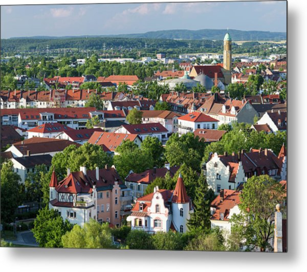 Bamberg In Franconia, A Part Of Bavaria Metal Print by Martin Zwick
