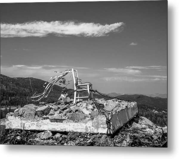 Beacon / The Chair Project Metal Print