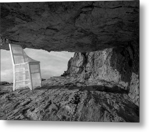 Between / The Chair Project Metal Print