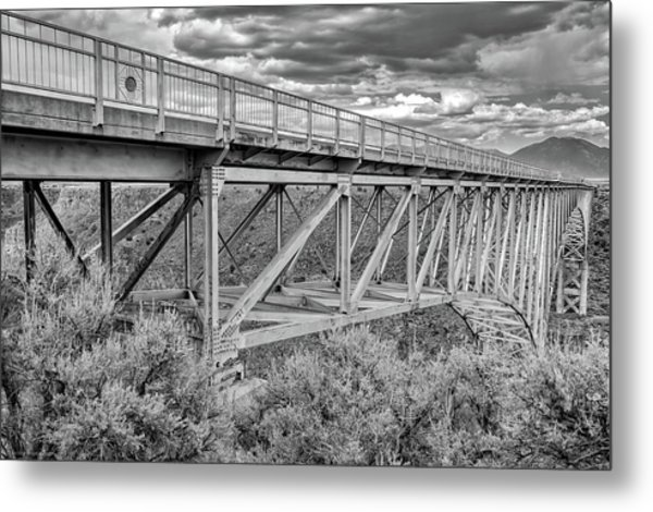 Metal Print featuring the photograph Bridge Perspective by Britt Runyon