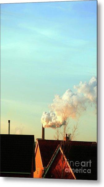 Bury St Edmunds Factory  Metal Print