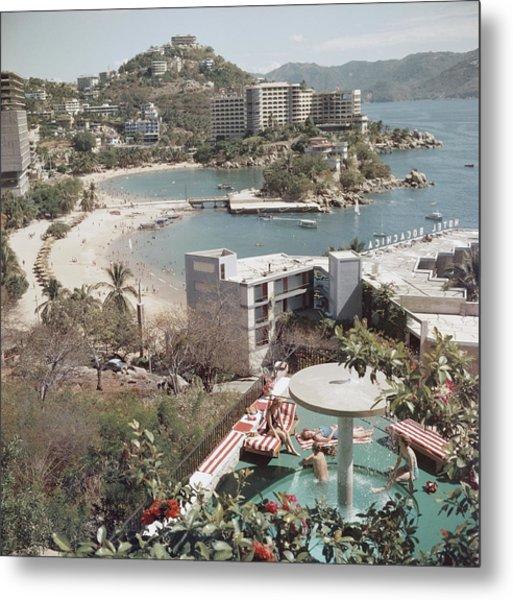 Caleta Beach, Acapulco Metal Print
