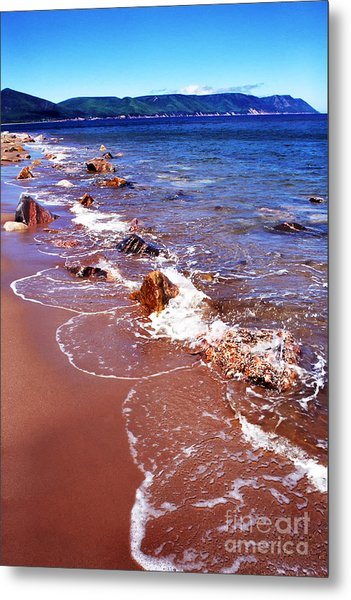 Cape Breton Island Aspy Bay Metal Print