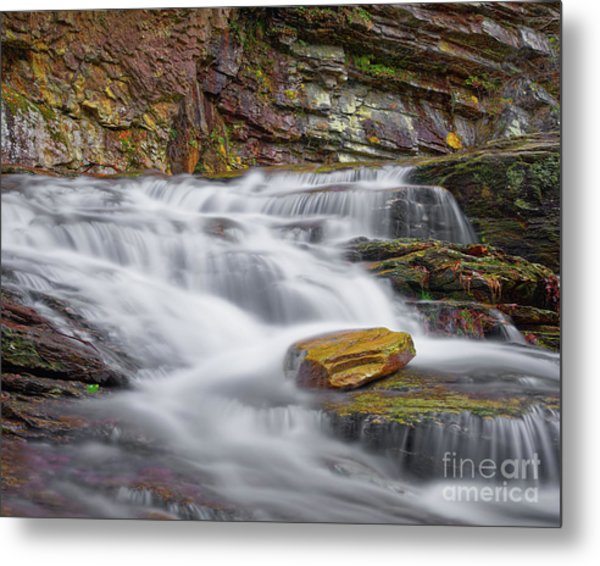 Metal Print featuring the photograph Cascade 2 by Patrick M Lynch