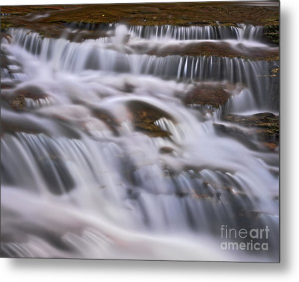 Metal Print featuring the photograph Cascade 5 by Patrick M Lynch