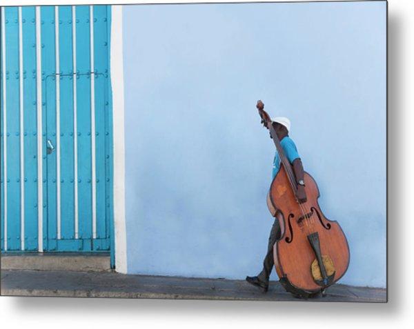 Cuba. Santiago De Cuba. Calle Heredia Metal Print by Buena Vista Images