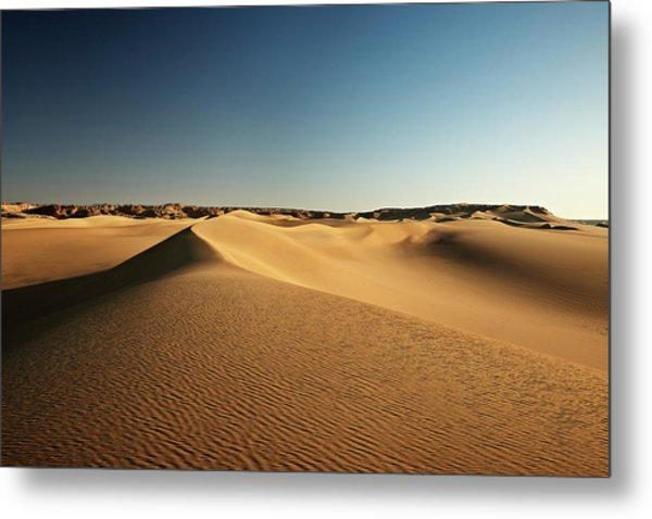 Desert Landscape, Sand Dunes, Western Metal Print