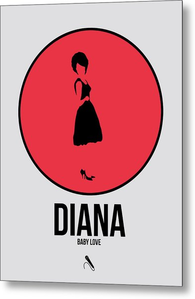 Diana Ross Metal Print