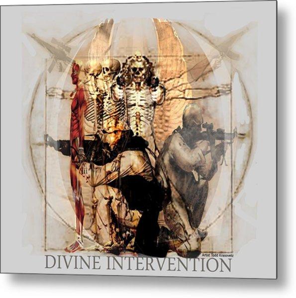 Divine Intervention Metal Print