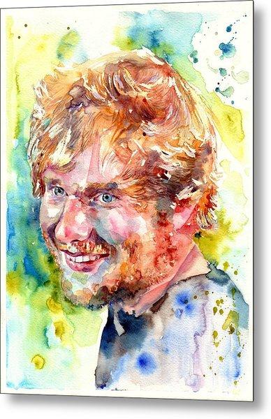 Ed Sheeran Metal Print