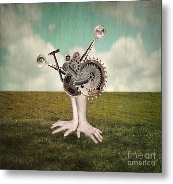 Fantasy Artistic Image That Represent Metal Print