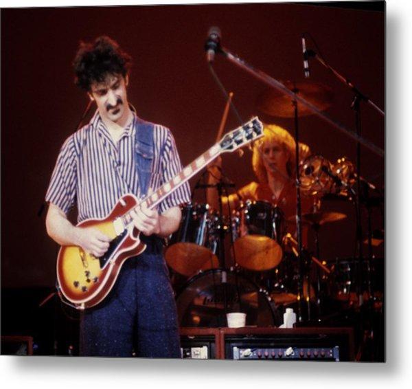 Frank Zappa Live Metal Print