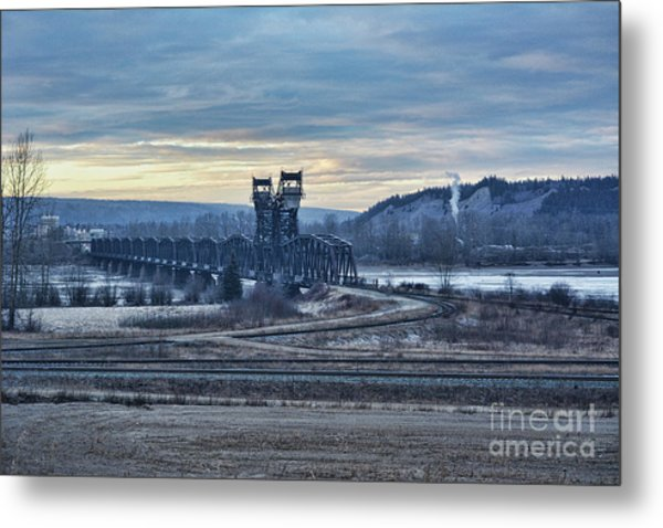 Grand Trunk Pacific Railway Metal Print