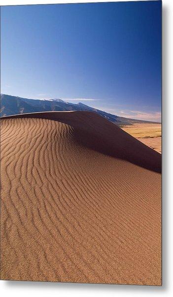 Great Dunes Metal Print