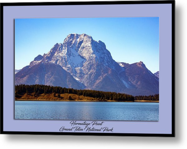 Metal Print featuring the photograph Hermitage Point by Pete Federico
