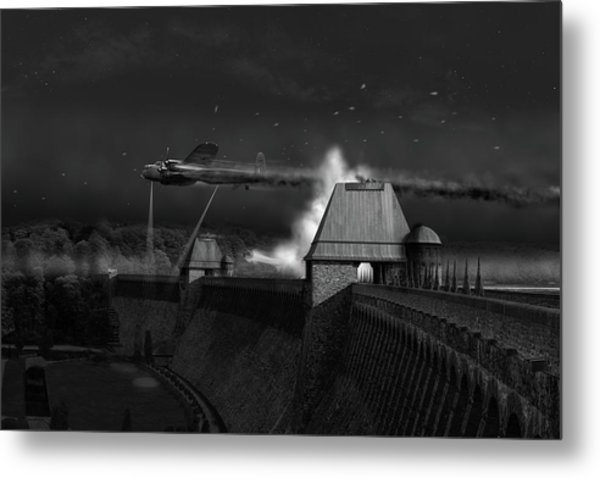 Metal Print featuring the photograph Hopgood's Last Run Black And White Version by Gary Eason
