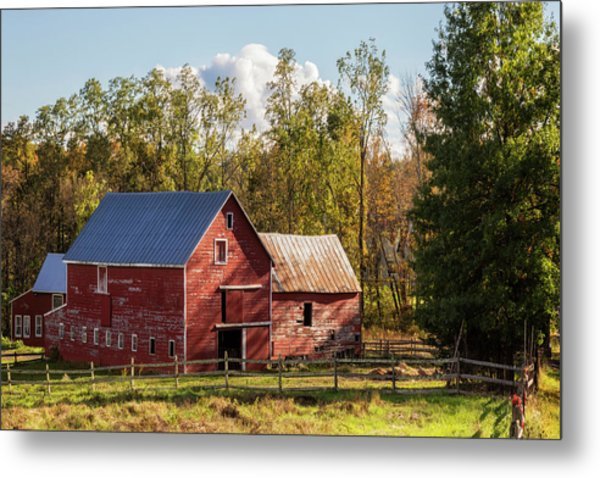 Hudson Valley Ny Countryside Metal Print