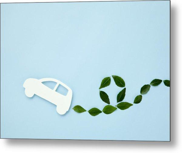 Image Of Eco Car Metal Print by Imagenavi
