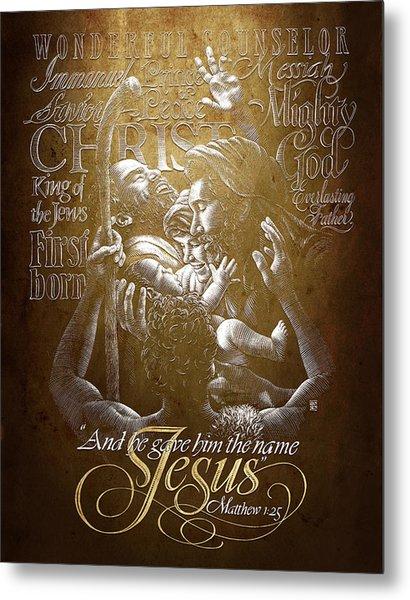 Immanuel Metal Print