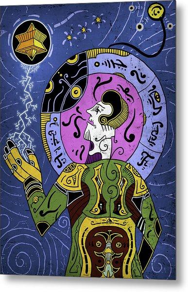 Metal Print featuring the digital art Incal by Sotuland Art