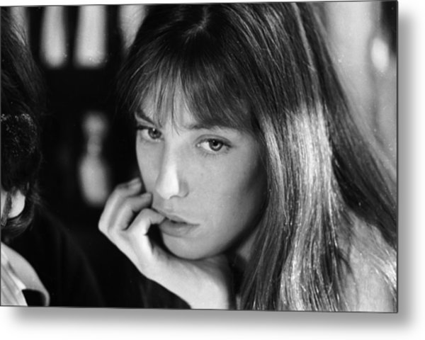 Jane Birkin Metal Print by Keystone